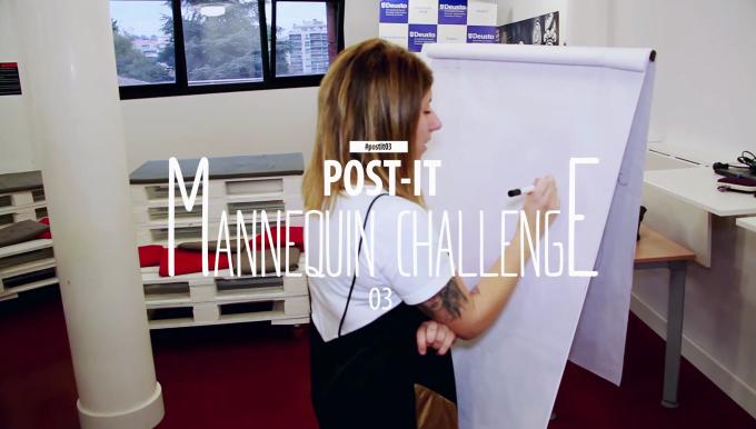 Mannequin Challenge en la Universidad de Deusto